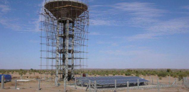 Solar water pumping Mauritania