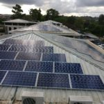 Office complex near Wilson Airport equipped with 80 kWp solar PV installation