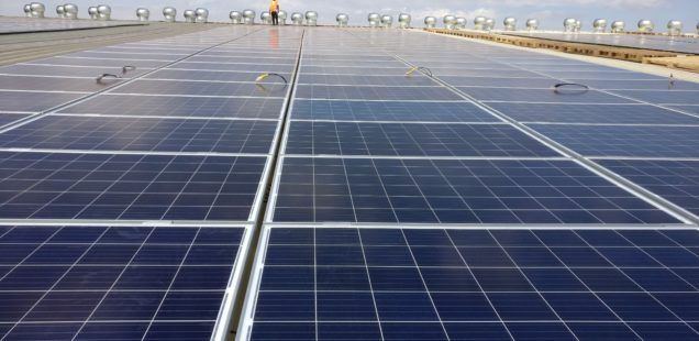 Greenspark commissions 300 kWp installation for warehouse