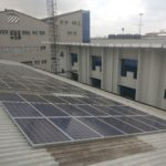 This 23 kWp system provides power to an office complex